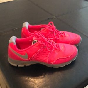 Hot Pink Nike trainers